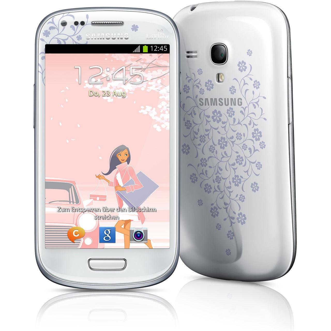 samsung galaxy s3 mini i8190 8 gb la fleur smartphones. Black Bedroom Furniture Sets. Home Design Ideas