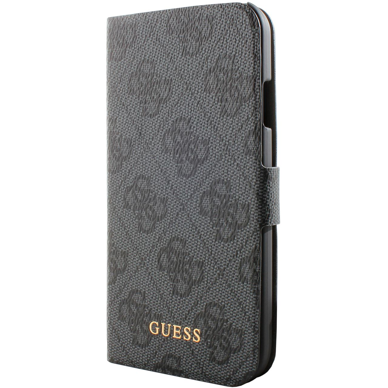 bigben interactive guess leather klapp etui f r galaxy s4. Black Bedroom Furniture Sets. Home Design Ideas