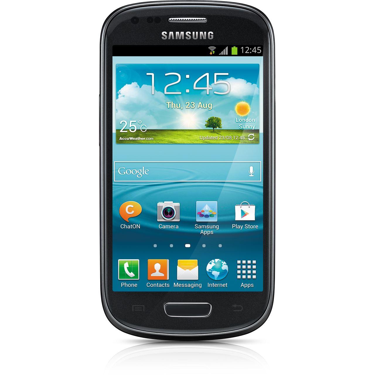 samsung galaxy s3 mini ve i8200 8 gb schwarz smartphones. Black Bedroom Furniture Sets. Home Design Ideas