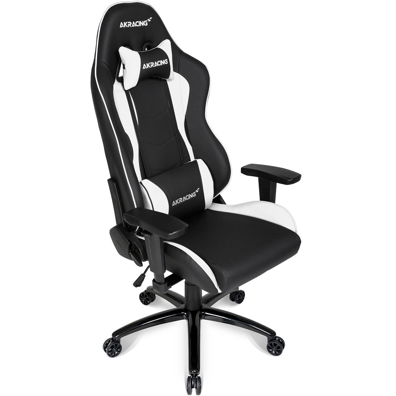 akracing nitro gaming chair schwarz wei gaming seats hardware. Black Bedroom Furniture Sets. Home Design Ideas