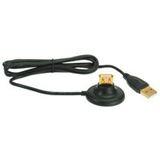 (€3,95*/1m) 2.00m InLine USB2.0 Verlängerungskabel USB A Stecker auf USB A Buchse Schwarz Standfuß