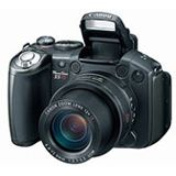 """Canon PowerShot S5 IS 8MPix 12fach opt. Zoom SD 2,5"""" anthrazit"""