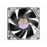 SilenX iXtrema Pro Red LED 80x80x25mm 1700 U/min 14 dB(A) transparent