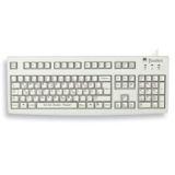 CHERRY G83-6919LUNZY-0 Tastatur Hellgrau Fränkisch USB