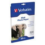 Verbatim A4 Fotopapier matt 20Blatt