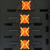 Xigmatek Asgard II Midi Tower ohne Netzteil schwarz/orange