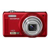 Olympus D-720 rot 14 MP, 10x opt.Zoom, 7,6cm LCD, HD Movie