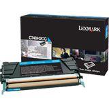 Lexmark Toner C748 cyan