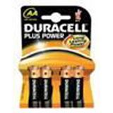 Duracell Plus Power LR6 Alkaline AA Mignon Batterie 1.5 V 4er Pack