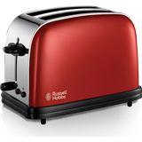 Russell Hobbs 2-Scheiben-Toaster, Brotscheibenzentrierung, extra breite