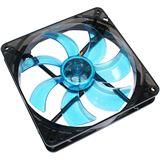 Cooltek Silent Fan 140 Blue 140x140x25mm 900 U/min 13.9 dB(A) schwarz/blau