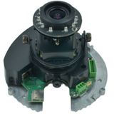 LevelOne IPCam FCS-3064 Dome Indoor PoE 5MP IR Tag /Nacht