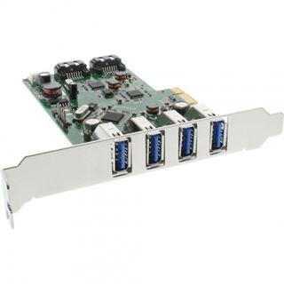 InLine 76664C 6 Port PCIe inkl. Low Profile Slotblech / Low Profile retail