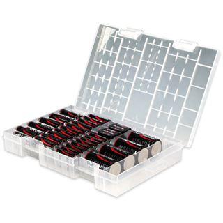 ANSMANN Red-Line Batterie Box LR03/LR6/LR14/LR20/6LR61 Alkaline gemischt 55er Pack