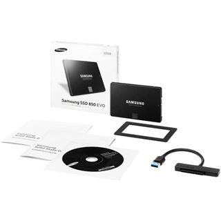 "120GB Samsung 850 Evo Starter Kit 2.5"" (6.4cm) SATA 6Gb/s TLC Toggle (MZ-75E120RW)"