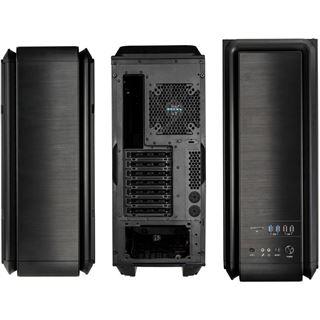 anidees AI6BS gedämmt Midi Tower ohne Netzteil schwarz