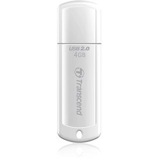 4 GB Transcend JetFlash 370 weiss USB 2.0