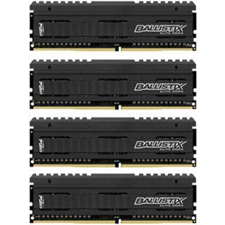 32GB Crucial Ballistix Elite DDR4-2666 DIMM CL16 Quad Kit