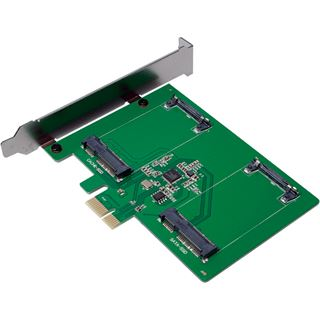 LogiLink PC0078 2 Port mSATA retail