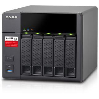 QNAP Turbo Station TS-563-8G ohne Festplatten
