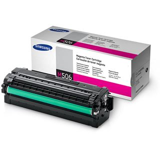 Samsung CLT-M506L Tonerpatrone 3500 Seiten, für CLP-680DW, CLX6260FS etc. magenta