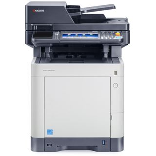 Kyocera Ecosys M6535CIDN/KL3 Farblaser Drucken / Scannen / Kopieren / Faxen Cardreader / LAN / USB 2.0