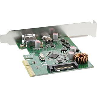 InLine 76660A 2 Port PCIe 2.0 x4 inkl. Low Profile Slotblech / Low Profile retail