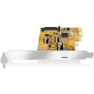 ICY BOX IB-U31-01 1 Port PCIe 3.0 x1 inkl. Low Profile Slotblech / Low Profile retail