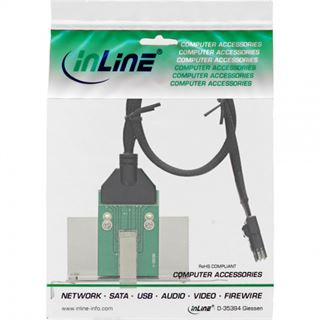 InLine Slotblech für SAS (SFF-8644) (27658B)