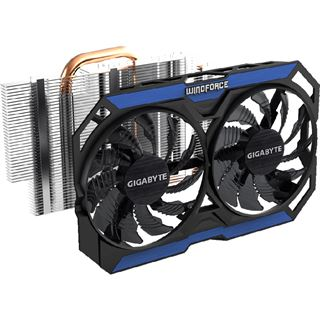 4GB Gigabyte GeForce GTX 960 OC Aktiv PCIe 3.0 x16 (Retail)