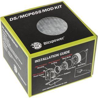 Bitspower D5 Mod Kit weiß