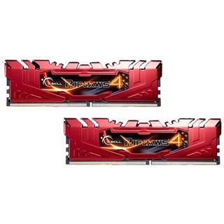 16GB G.Skill RipJaws 4 rot DDR4-2666 DIMM CL15 Dual Kit