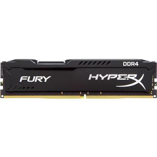 4GB HyperX FURY schwarz DDR4-2666 DIMM CL15 Single