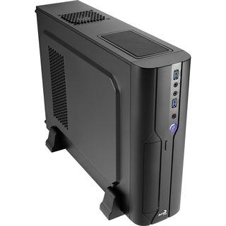 AeroCool Cs-101 Desktop ohne Netzteil schwarz