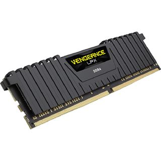 16GB Corsair Vengeance LPX schwarz DDR4-2666 DIMM CL16 Dual Kit