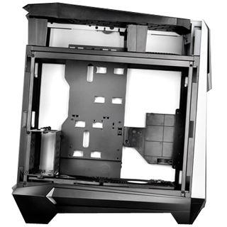 Silverstone Raven RV05 mit Sichtfenster Midi Tower ohne Netzteil weiss/schwarz