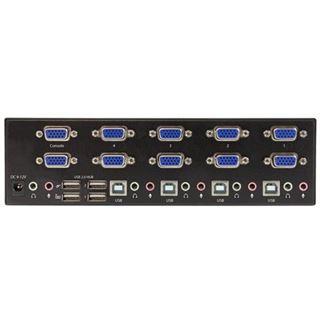 Startech 4-Port Dual VGA KVM Switch