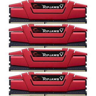 32GB G.Skill RipJaws V rot DDR4-2133 DIMM CL15 Quad Kit