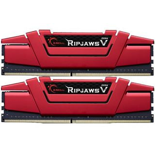 8GB G.Skill RipJaws V rot DDR4-2666 DIMM CL15 Dual Kit