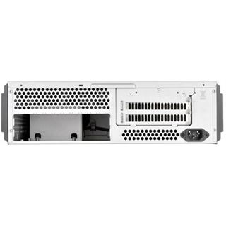 Silverstone Fortress FTZ01 Mini-ITX ohne Netzteil silber