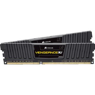 16GB Corsair Vengeance LP schwarz DDR3L-1600 DIMM CL9 Dual Kit