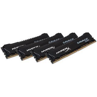 16GB HyperX Savage DDR4-2400 DIMM CL12 Quad Kit