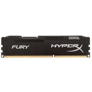4GB HyperX FURY schwarz DDR3L-1600 DIMM CL10 Single
