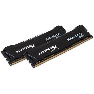 8GB Kingston HyperX Savage DDR4-2666 DIMM CL13 Dual Kit