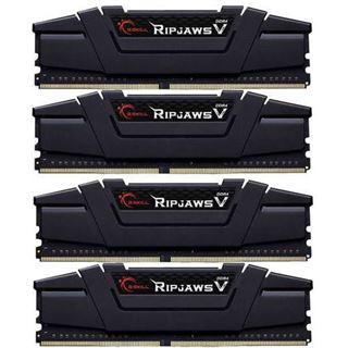32GB G.Skill RipJaws V schwarz DDR4-3400 DIMM CL16 Quad Kit