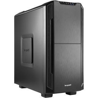 be quiet! Silent Base 600 gedämmt Midi Tower ohne Netzteil schwarz