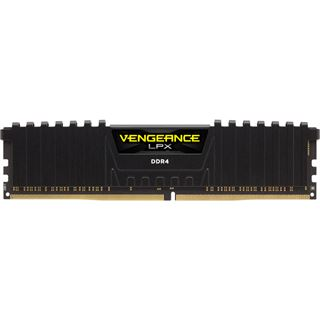 4GB Corsair Vengeance LPX schwarz DDR4-2400 DIMM CL14 Single