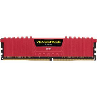 4GB Corsair Vengeance LPX rot DDR4-2400 DIMM CL14 Single