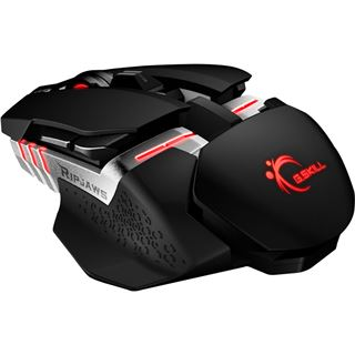 G.Skill RipJaws MX780 Laser Gaming Mouse USB schwarz (kabelgebunden)
