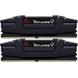32GB G.Skill RipJaws V schwarz DDR4-3200 DIMM CL16 Dual Kit